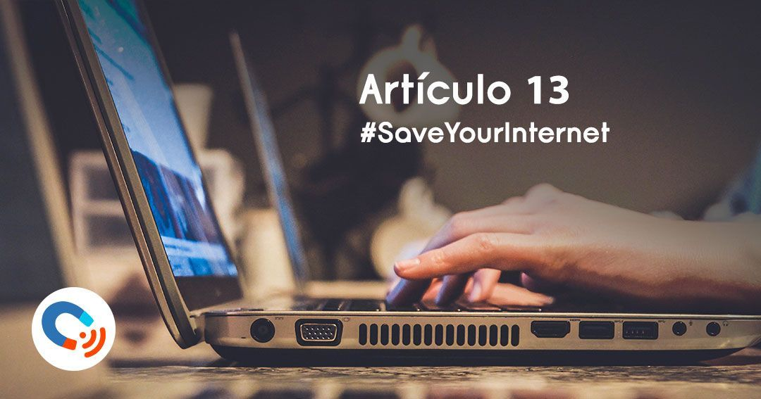 Articulo13: Save yout internet