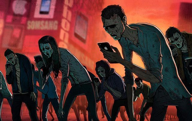 Redes sociales zombies RSM